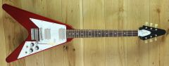 Gibson Custom 1967 Flying V Vibrola Sparkling Burgundy 000157