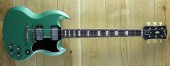 Gibson Custom M2M 1961 Les Paul SG Standard Reissue VOS Inverness Green 002522