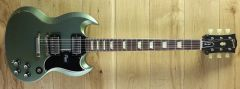 Gibson Custom '61 SG Standard Reissue Metallic Teal Lightly Aged 92012 ~ Secondhand