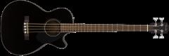 Fender CB60SCE Electro Acoustic Bass Black