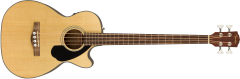 Fender CB60SCE Electro Acoustic Bass Natural