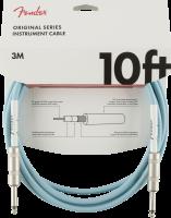 Fender Original Series 10ft Cable Daphne Blue