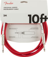 Fender Original Series 10ft Cable Fiesta Red
