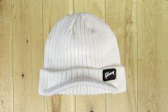 Gibson Radar Knit Beanie Hat White