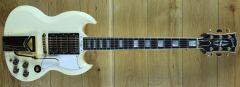 Gibson 60th Anniversary 1961 SG Les Paul Custom VOS Polaris White 100611