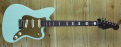 Fender  Parallel Universe Volume II Strat Jazz Deluxe Transparent Faded Seafoam Green US203184