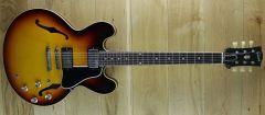Gibson Custom 1961 ES335 Reissue VOS Vintage Burst 111061