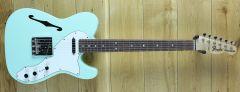 Fender Custom Shop Greg Fessler Masterbuilt Custom 68 Thinline Tele NOS, Surf Green with Envy (One of a kind) GWE21-06