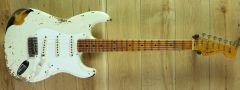 Fender Custom Shop #15 1956 Strat Heavy Relic Aged India Ivory over 2 Colour Sunburst CZ546870