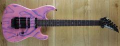 Jackson USA Custom Dinky Pink Snakeskin 1989 ~ Secondhand