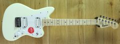 Squier Mini Jazzmaster HH, Maple Fingerboard, Olympic White