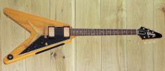 Gibson Custom 1958 Korina Flying V Reissue Black Pickguard ~ Pre Order