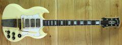 Gibson Custom 67 SG Custom Jimi Hendrix Classic White Aged GM ~ 67037