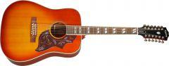 Epiphone Inspired By Gibson Hummingbird 12-string Aged Cherry Sunburst Gloss