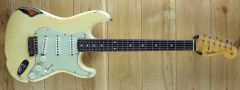 Fender Custom Shop Ron Thorn Masterbuilt 60 Strat Heavy Relic Vintage White over 3 Tone Sunburst