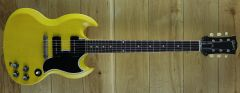 Gibson Custom M2M 1963 SG Special Reissue Lightning Bar VOS TV Yellow 100443