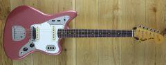 Fender Custom Shop Summer Dealer Event 63 Jaguar Journeyman Relic Burgundy Mist CZ550468