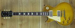 Gibson Custom Made to Measure 58 Les Paul VOS Figured Top Golden Poppy Burst handpicked Top Left handed 80900