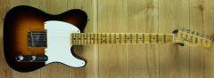 Fender Custom Shop Vintage 50 Pine Esquire Journeyman Relic Wide 2 Tone Sunburst R106206 ~ Secondhand