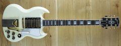 Gibson 60th Anniversary 1961 SG Les Paul Custom VOS Polaris White 100291