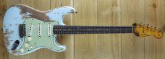 Fender Custom Shop 59 Strat Super Heavy Relic Sonic Blue R110619