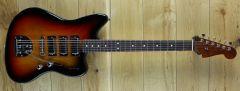 Fender Parallel Universe II Spark-O-Matic Jazzmaster 3-Color Sunburst
