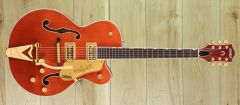 Gretsch  G6120TG Players Edition Nashville® Hollow Body with String-Thru Bigsby® and Gold Hardware, Ebony Fingerboard, Orange Stain ~ Due November