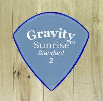 Gravity Picks Sunrise Standard 2 Unpolished