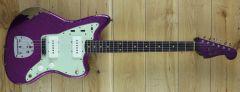 Fender Custom Shop 61 Jazzmaster Heavy Relic Magenta Sparkle R111281