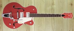 Gretsch G5410T Limited Edition Electromatic Tri-Five Hollow Body, Two-Tone Fiesta Red/Vintage White