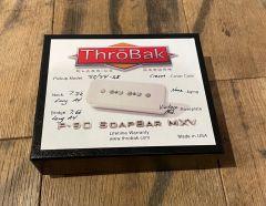 ThroBak '52/'54 Vintage P90 Guitar Pickup Set Cream Covers