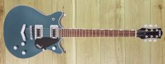 Gretsch G5222 Electromatic Double Jet BT with V Tail Piece Jade Grey Metallic