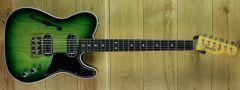 Fender Custom Shop Ron Thorn Masterbuilt Thinline Tele Greenburst ~ R108167