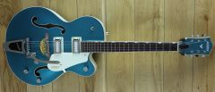 Gretsch G5410T Limited Edition Electromatic Tri-Five, Two-Tone Ocean Turquoise/Vintage White
