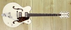 Gretsch  G6636T-RF Richard Fortus Signature Falcon™ Center Block with String-Thru Bigsby®, Ebony Fingerboard, Vintage White ~ Due November