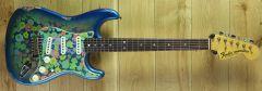 Fender Custom Shop Namm Ltd 69 Blue Flower Strat Relic CZ544505 ~ Namm Show Guitar