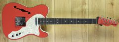 Fender Limited Edition Two-Tone Telecaster, Ebony Fingerboard, Fiesta Red