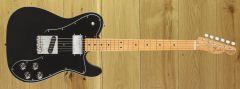 Fender Vintera 70s Telecaster Custom Maple Fingerboard, Black