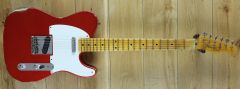 Fender Custom Shop 54 Tele Relic Super Faded Candy Apple Red R109562