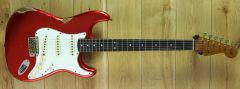 Fender Custom Shop #22 1964 Strat Relic Aged Candy Apple Red CZ548431