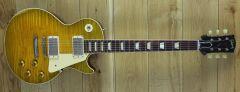 Gibson Custom Tom Murphy Ultra Heavy Aged 58 Les Paul Standard Golden Poppy Burst, Handpicked Top 80130