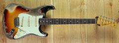 Fender Custom Shop Kyle McMillin Masterbuilt 60 Strat Heavy Relic 3 Tone Sunburst R101873 ~ Secondhand