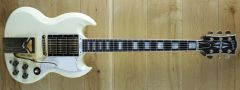 Gibson 60th Anniversary 1961 SG Les Paul Custom VOS Polaris White 104701