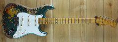 Fender Custom Shop 50s Strat Super Heavy Relic Sherwood Green over 3 Tone Sunburst R110390