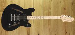 Squier Affinity Starcaster Maple Fingerboard Black