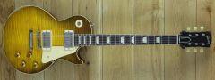 Gibson Custom Murphy Lab Ultra Heavy Aged  1959 Les Paul Standard Green Lemon Fade Handpicked Top 901322