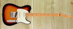 Player Plus Nashville Tele,Maple Fingerboard, 3-Color Sunburst