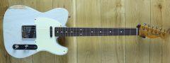 Fender Custom Shop Carlos Lopez Masterbuilt 59 Tele Relic Trans Sonic Blue R107518