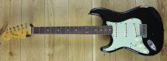 Fender Custom Shop 59 Strat Relic Black Left Handed ~ R109325