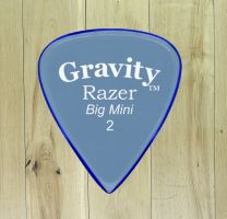 Gravity Picks Razer Big Mini 2 Polished